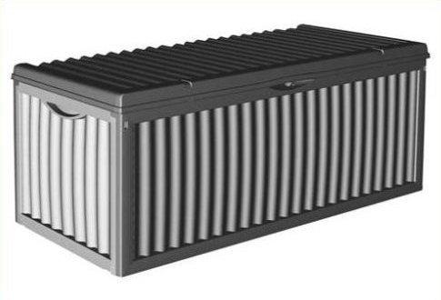 auflagenbox 350 liter in schwarz. Black Bedroom Furniture Sets. Home Design Ideas