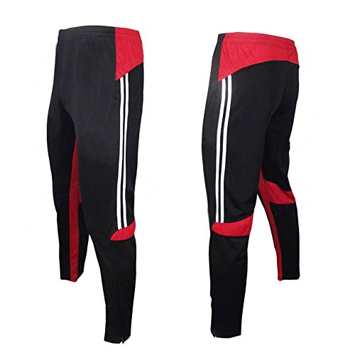 COOLOMG Men's Soccer S-XL Training Sweat Pants Athletic Apparel Casual Sport Trousers