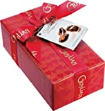 Artisanal Belgian Chocolate Truffles in Red Hearts Gift Wrapped Box