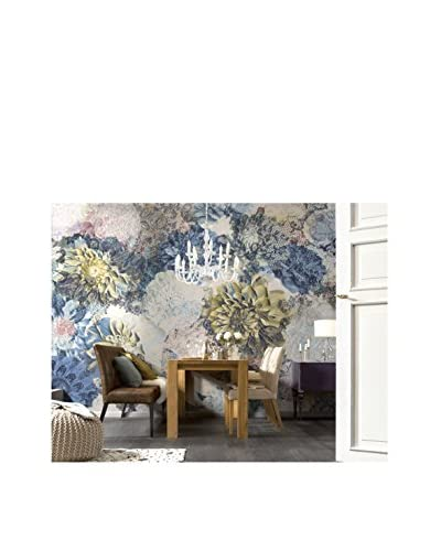 Brewster Frisky Flowers Wall Mural