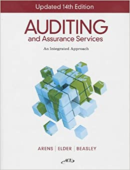 Auditing and assurance services 14th edition solutions