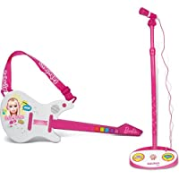 Barbie Electrical Rock Guitar with Microphone