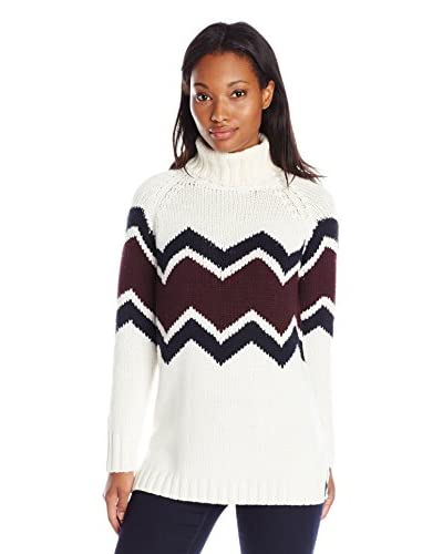 525 America Women's Zig Zag Sweater