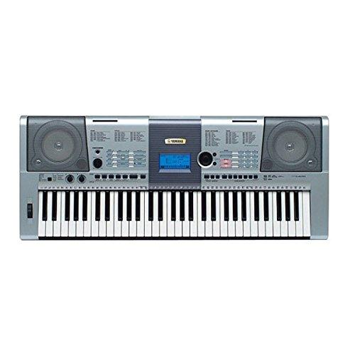 Yamaha psr i425 portable keyboard with adaptor slilver for Yamaha keyboard amazon