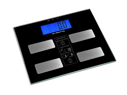 HOMEIMAGE Digital Body Fat and BMI Scale- 400 lbs/180kg