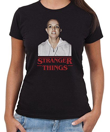 t-shirt-britney-stranger-things-eleven-divertenti-by-new-indastria-donna-l-nera