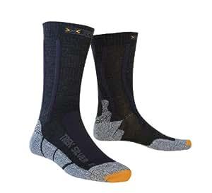 X-Socks Run Silver / 20318 Chaussettes randonne Noir/Anthracite 35-38