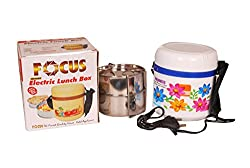 Focus Electric Lunch Box for Home and Kitchen by Milano international