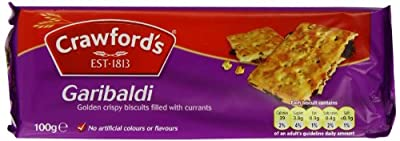 Crawfords Garibaldi Biscuits, 100 Gram (Pack of 12) by Spicy World - Dropship
