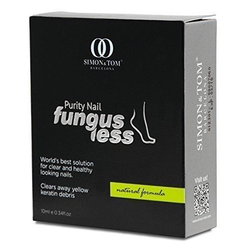 Simon & Tom Fungusless - Miscela unica che elimina l'onicomicosi e favorisce la ricrescita delle unghie sane. 10ml