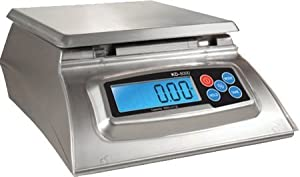 Kitchen Scale - Baker's Math Kitchen Scale - KD8000 Scale by My Weight, Silver