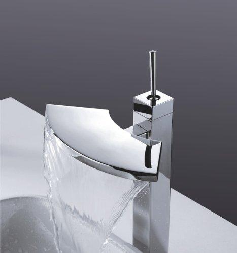 Brass Bathroom Single Handle Mixer Tap Chrome Finished: Single Handle Ax Bathroom Basin Brass Mixer Tap Vanity