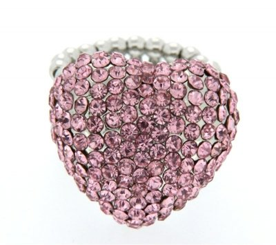Sweet Deluxe Ring Siiri silber-rose