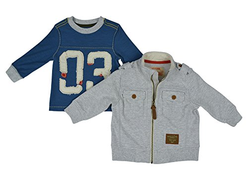 Alfa Global Boy'S Genuine Osh Kosh Jacket And Top 2Pcs. Set 12M back-850462