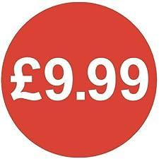 Audioprint Lot Petit 13mm £ 9,99Prix Stickers-10000PACK