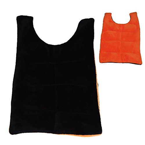 Herbal Concepts Back Wrap, Orange And Black