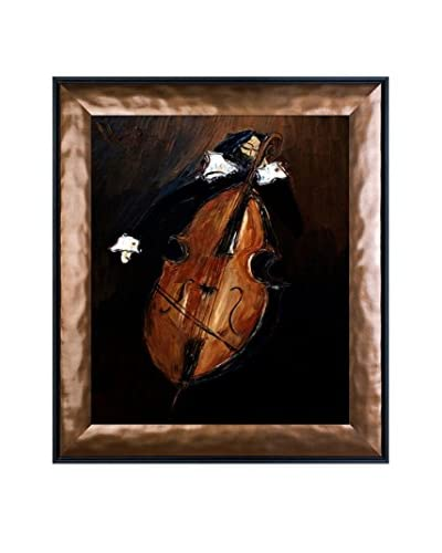 Justyna Kopania Violoncello Framed Canvas Print
