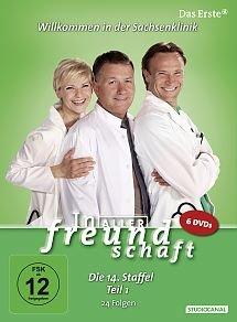 In aller Freundschaft - Die 14. Staffel, Teil 1, 24 Folgen [6 DVDs]