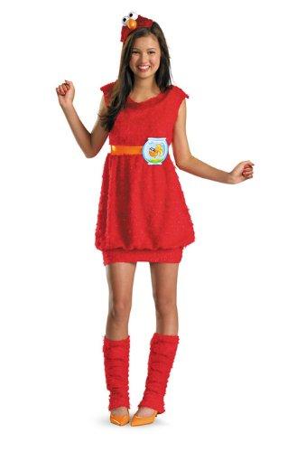 Sesame Street セサミストリート エルモ Plush Tween コスチューム/ハロウィン/コスプレ/衣装/仮装/男の子/女の子/子供/小学生/かわいい/面白い/学園祭/文化祭/学祭/大学祭/高校/イベント【並行輸入品】