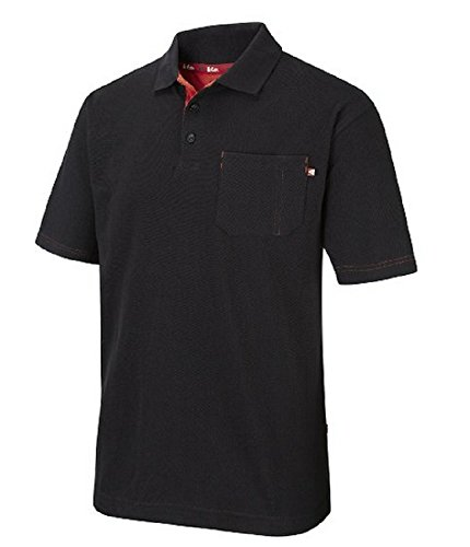 Lee Cooper -  Polo  - Uomo nero 3XL