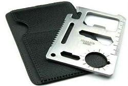 11 in 1 Stainless Steel Survival Tool Kit Pocket - 11IN1TK