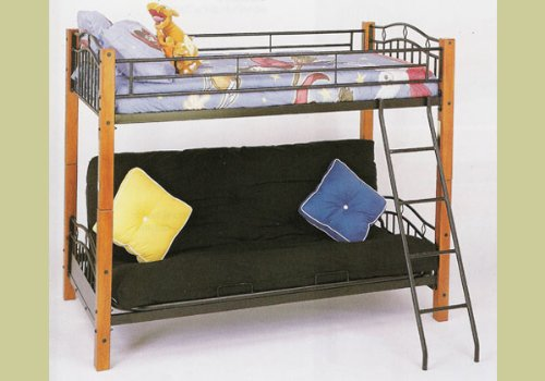 Full Over Futon Bunk Bed 9206 front