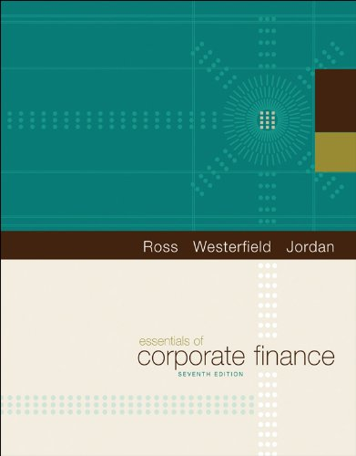 Essentials of Corporate Finance (The Mcgraw-Hill/Irwin Series in Finance, Insurance, and Real Estate)