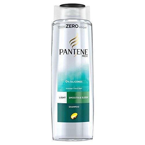 Pantene Pro- V Shampooing De Lumière Lisse Et Élégant (400Ml)