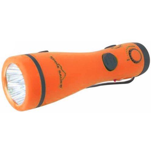 2-In-1 Am/Fm Radio Flashlight Orange By Eddie Bauer