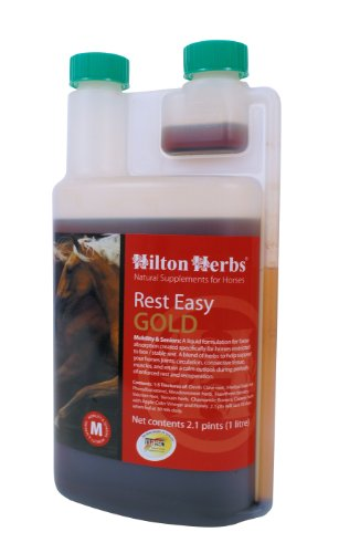 hilton-herbs-rest-easy-gold-concentrated-herbal-tinctures-for-horses-1-liter-bottle