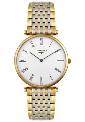 Đồng hồ Longines L47092117 La Grand Classic in Steel and 18k Gold Ultra Thin Men