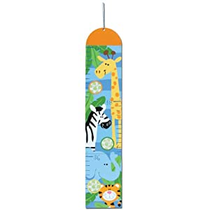 Stephen Joseph Growth Chart, Boy Zoo