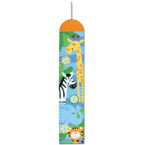 Stephen Joseph Growth Chart, Boy Zoo - 1