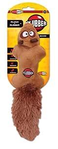Jakks Plubber Dog Toy, Beaver, Small