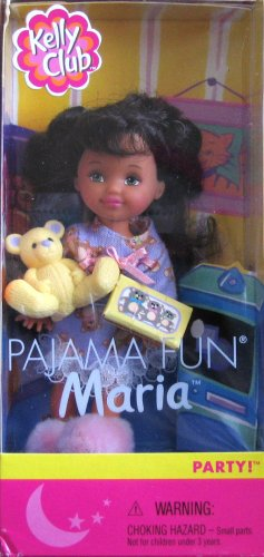 Barbie PAJAMA FUN MARIA Doll - PARTY! Kelly Club (2001)
