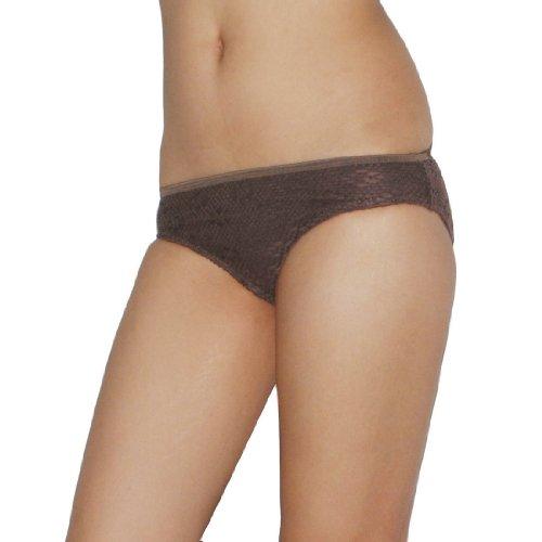 Womens Soft Mesh Layer Surf Swim Bikini Trunks / Bottom - Quick Dry - Brown - Size: XS