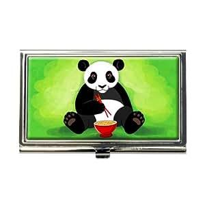 Amazon Panda Eating with Chopsticks Business Credit