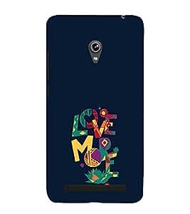 EPICCASE love more Mobile Back Case Cover For Asus Zenfone 6 (Designer Case)