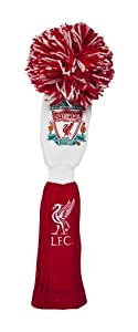 Liverpool Fc Pompom Golf Headcover - Redwhite Fairway by Liverpool FC