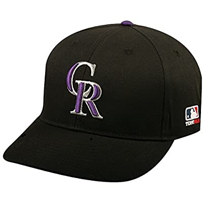 Colorado Rockies Velcro Adjustable Cap