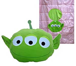 Amazon.com: Toy Story Alien Pillow and Blanket Pack (2 in 1)- Novelty Blanket: Toys & Games