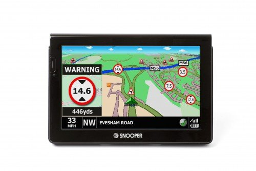 Snooper S7000 Truckmate In-Truck Sat Nav with European Mapping