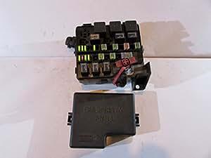 amazon.com: 01-06 chrysler sebring relay fuse box block ... 1996 chrysler sebring fuse box diagram #1