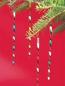 Victorian Colored Tin Tinsel - Christmas by The Vermont Country Store