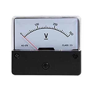 YS-670 DC 300V Volt Analog Panel Mount Meter Voltmeter