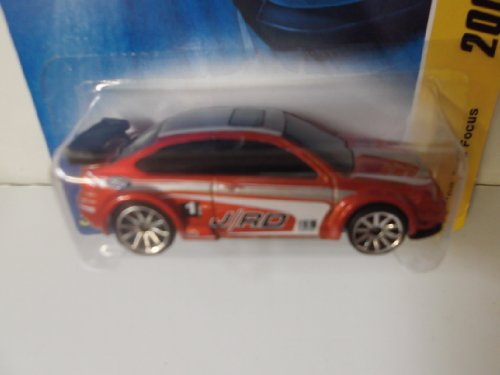 Hot Wheels 2008 New Models '08 Orange/red Ford Focus #31of 40 - 1