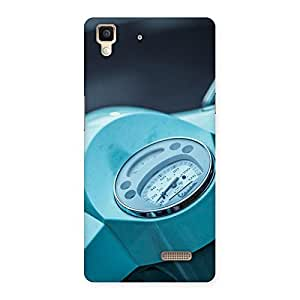 Special Scooter Meter Multicolor Back Case Cover for Oppo R7