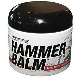 Hammer Nutrition Hammer Balm Transdermal Muscle Cream - 4 oz - BALM4