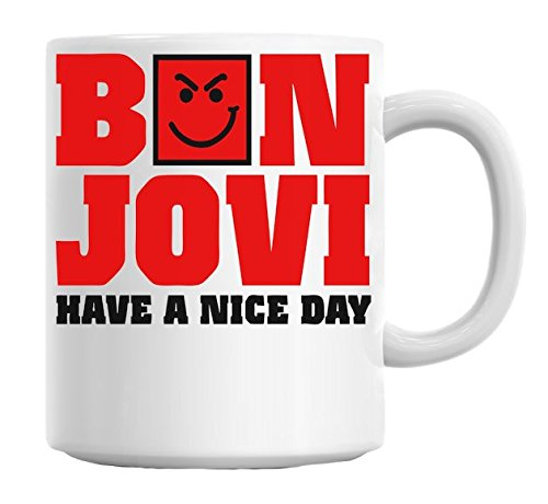 Bon Jovi-Have a Nice Day-Tazza