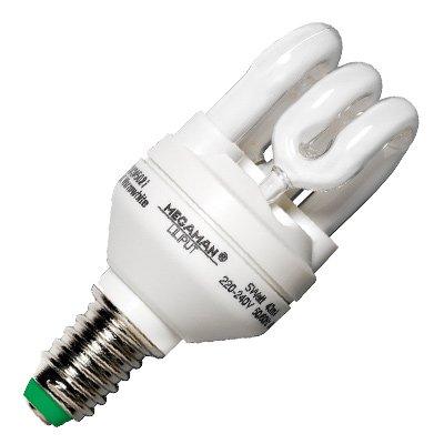 Megaman Energiesparlampe LILIPUT MM80807, 11 Watt - 11W / E27 / 827